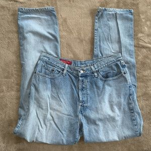 Banana Republic High-Waisted Button Fly Jeans